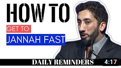 HOW TO GET TO JANNAH IN ISLAM I Islamic talks 2020